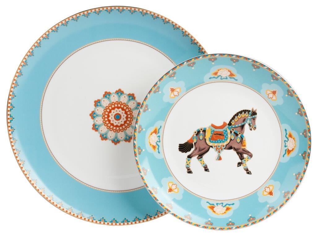 Купить Комплект тарелок Caballeria в интернет магазине дизайнерской мебели и аксессуаров для дома и дачи
