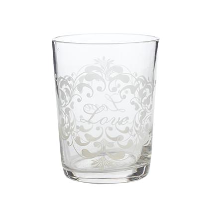 Купить Хрустальный стакан Crystal Love в интернет магазине дизайнерской мебели и аксессуаров для дома и дачи
