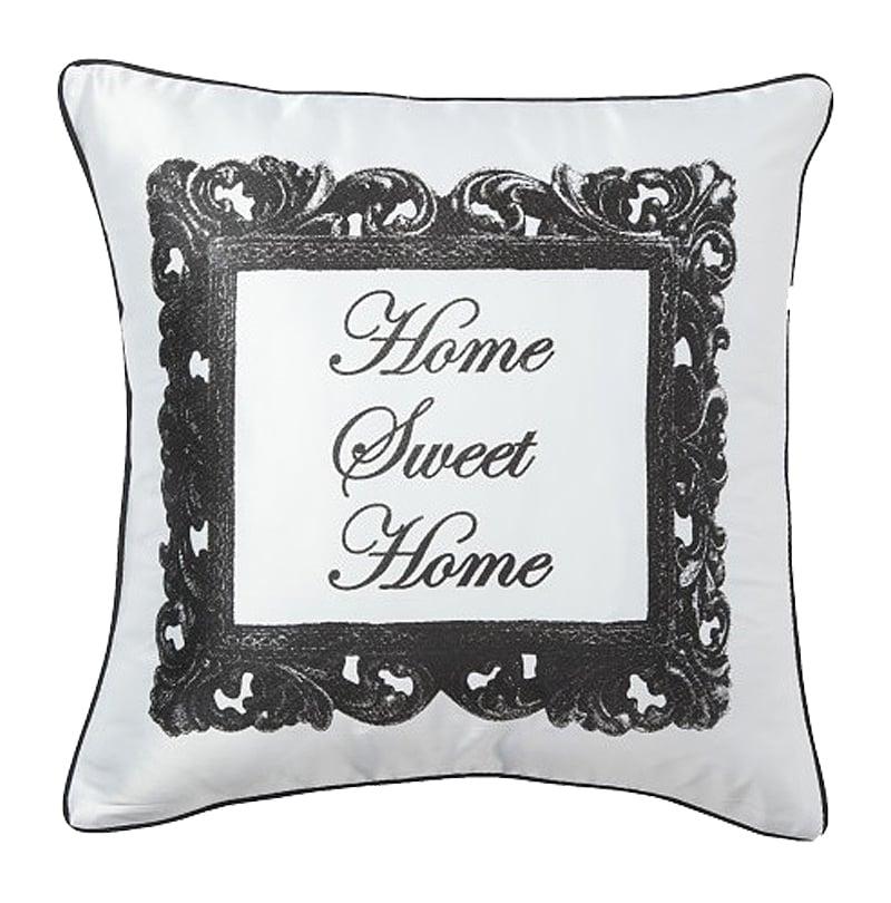 Подушка с надписью Home Sweet Home