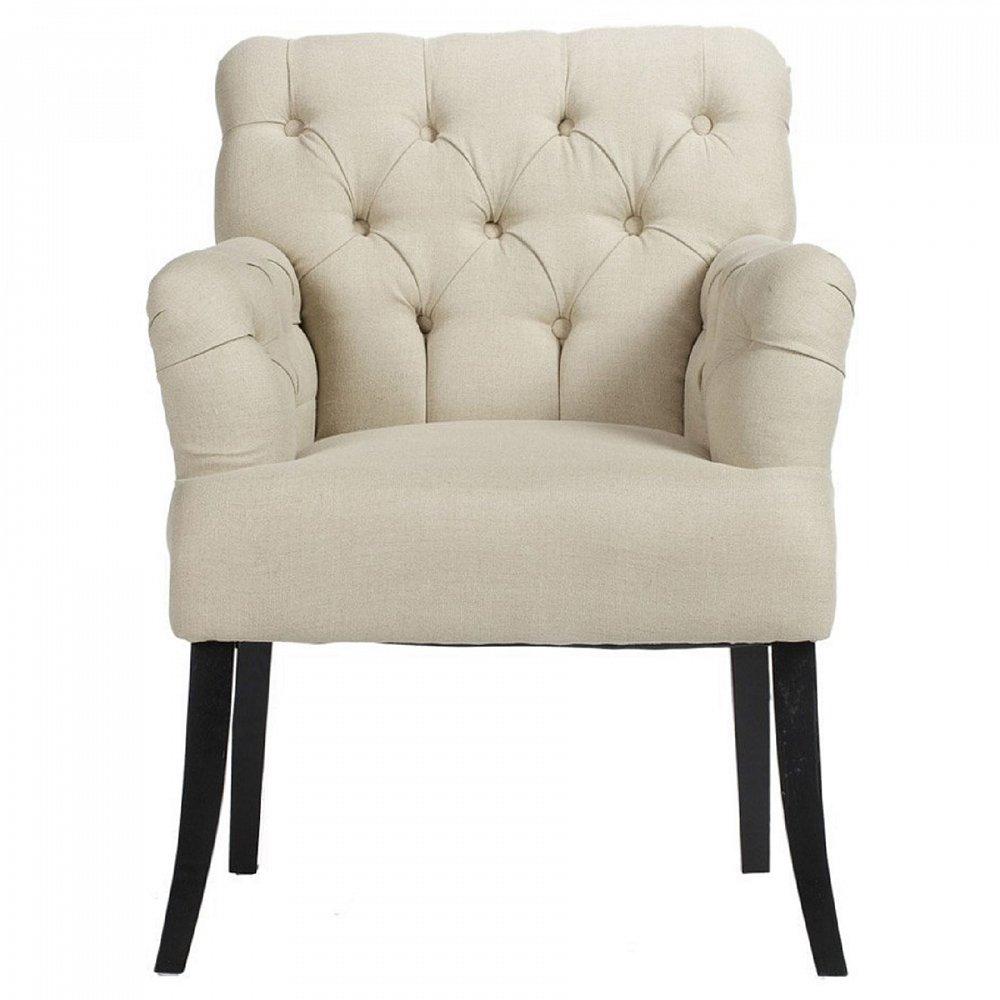 Кресло Castro Armchair Белый ЛенКресла<br>Кресло Castro Armchair с деревянным какркасом <br>из берёзы обеспечит прекрасный комфорт <br>для человека, которому посчастливится сесть <br>на него. Подушка сиденья толстая и мягкая, <br>обшита льняной плотной обивкой. Для наполнителя <br>использован упругий поролон, который не <br>допускает проваливания при сидении. Спинка <br>создана обтекаемой, что обеспечивает дополнительный <br>комфорт при отдыхе. Идеально подходит для <br>любой комнаты, украшенной богатым или высококлассным <br>декором.<br><br>Цвет: Белый<br>Материал: Ткань, Поролон, Дерево<br>Вес кг: 7,5<br>Длина см: 64<br>Ширина см: 63<br>Высота см: 89
