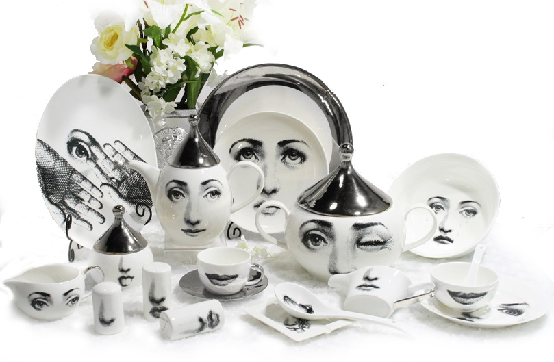 Столовый сервиз Пьеро Форназетти Silver Faces,  DG-DW103-68 от DG-home