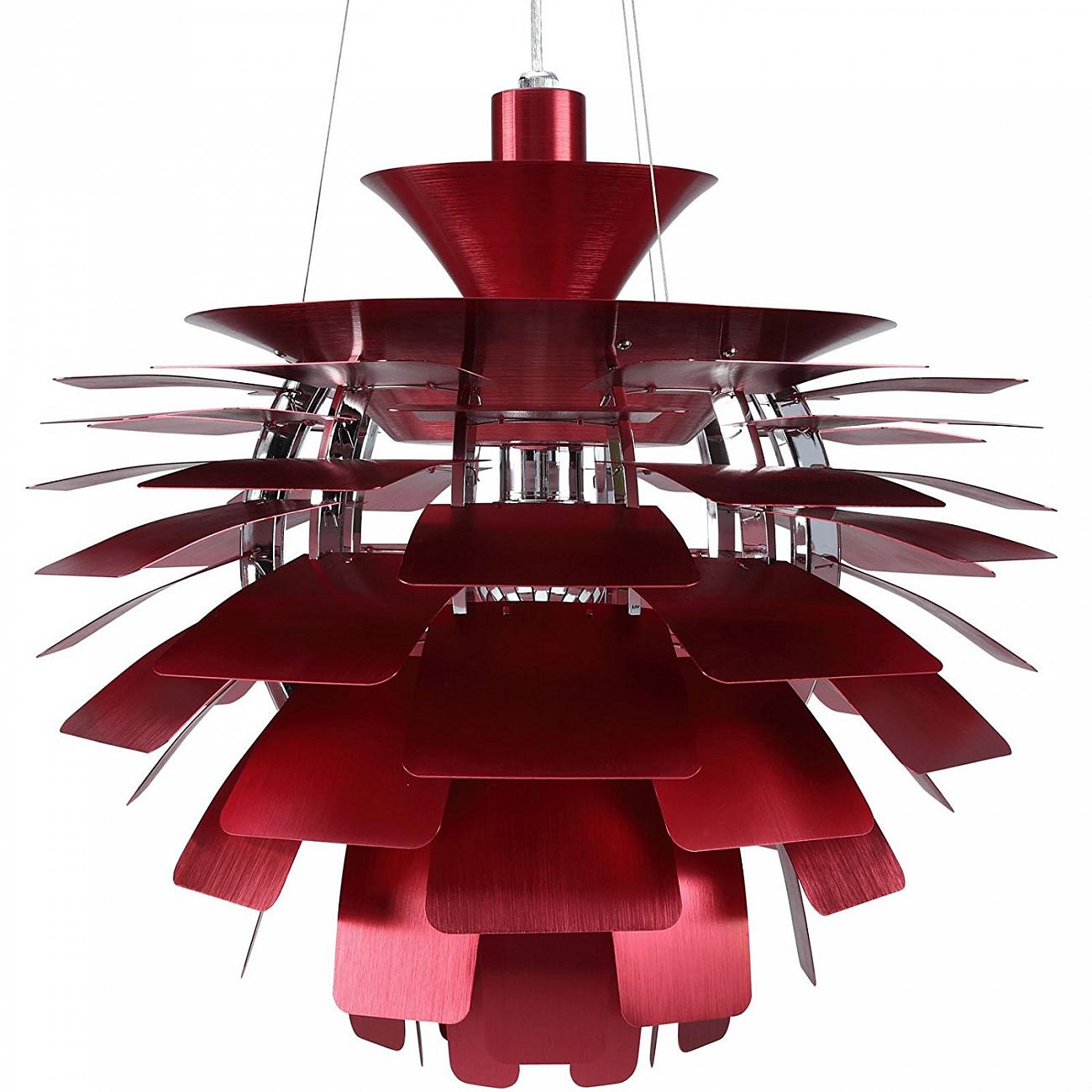 Купить Подвесной светильник Artichoke Red в интернет магазине дизайнерской мебели и аксессуаров для дома и дачи