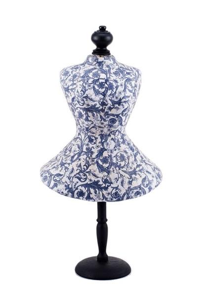 Купить Репродукция манекена Gzhel в интернет магазине дизайнерской мебели и аксессуаров для дома и дачи