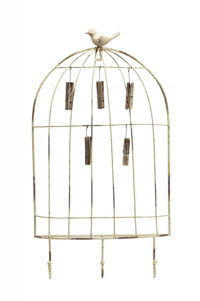 Экран для фотографий и заметок Cage with Hooks