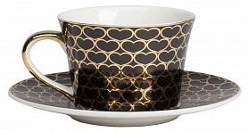 Купить Чайная пара Hearts Black в интернет магазине дизайнерской мебели и аксессуаров для дома и дачи