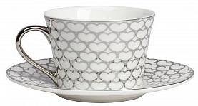 Купить Чайная пара Hearts White в интернет магазине дизайнерской мебели и аксессуаров для дома и дачи
