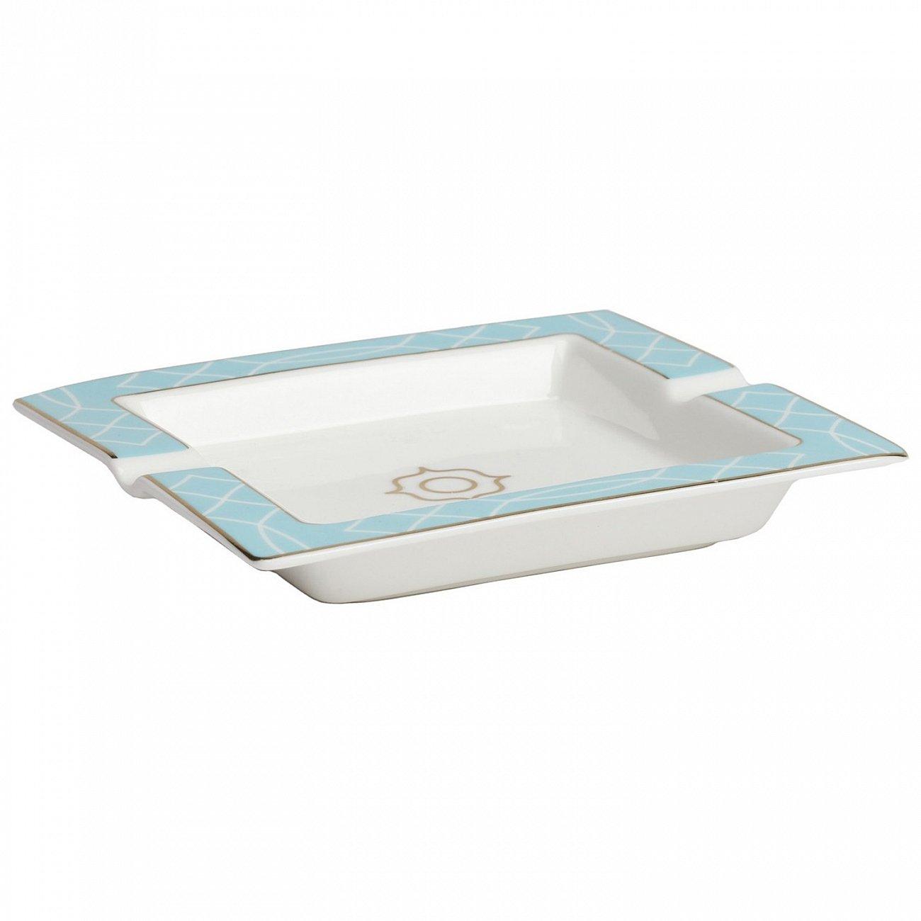 Купить Пепельница Turquoise Veil в интернет магазине дизайнерской мебели и аксессуаров для дома и дачи