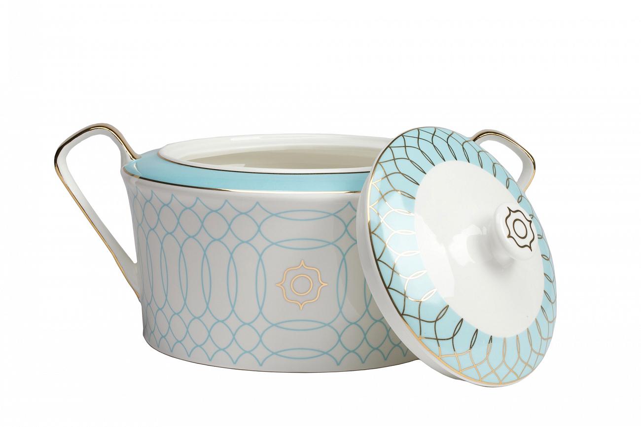 Купить Супница Turquoise Veil в интернет магазине дизайнерской мебели и аксессуаров для дома и дачи