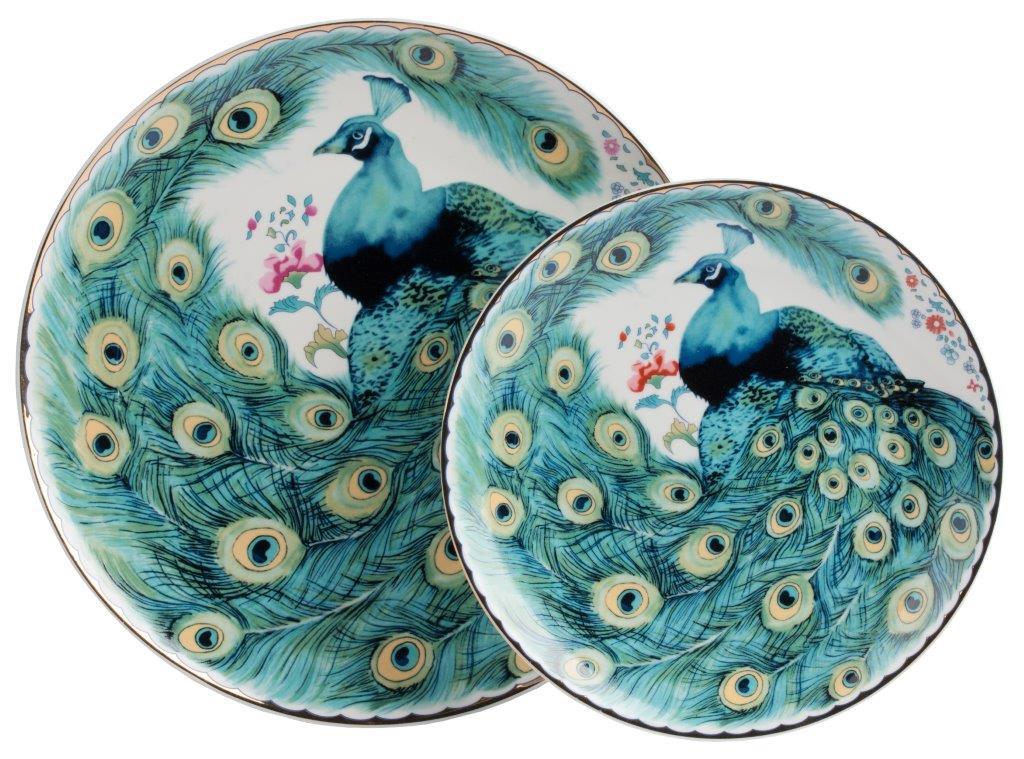 Купить Комплект тарелок Pavone в интернет магазине дизайнерской мебели и аксессуаров для дома и дачи