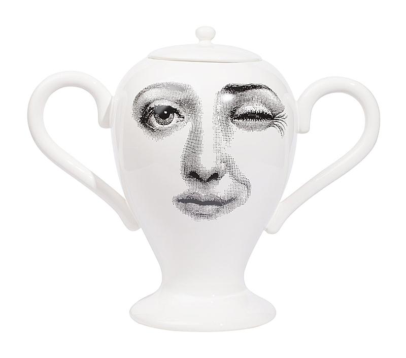 Декоративная ваза с крышкой Пьеро Форназетти  Giara Lidded White I, DG-D-699 от DG-home