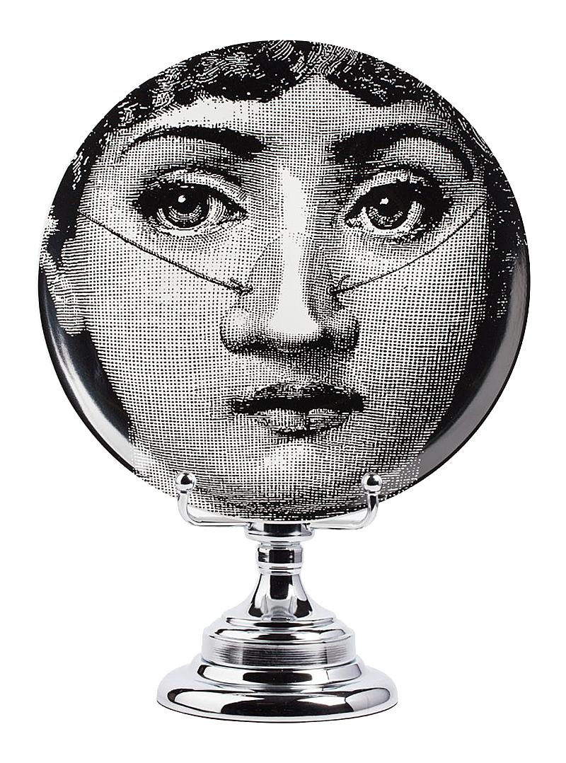 Декоративная тарелка на подставке Пьеро Форназетти Baffi