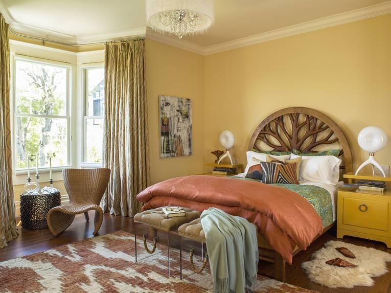 Как создать уютную спальню