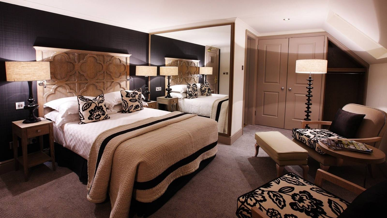 Фото красивых спальных комнат
