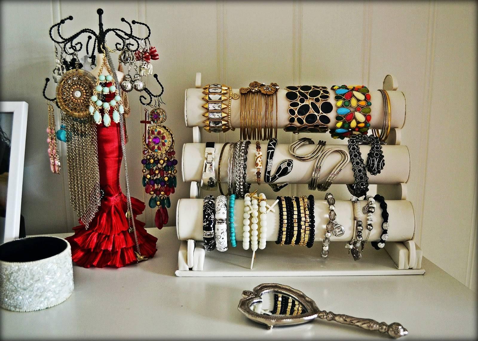 Подставка для украшений и бижутерии - 50 идей 19