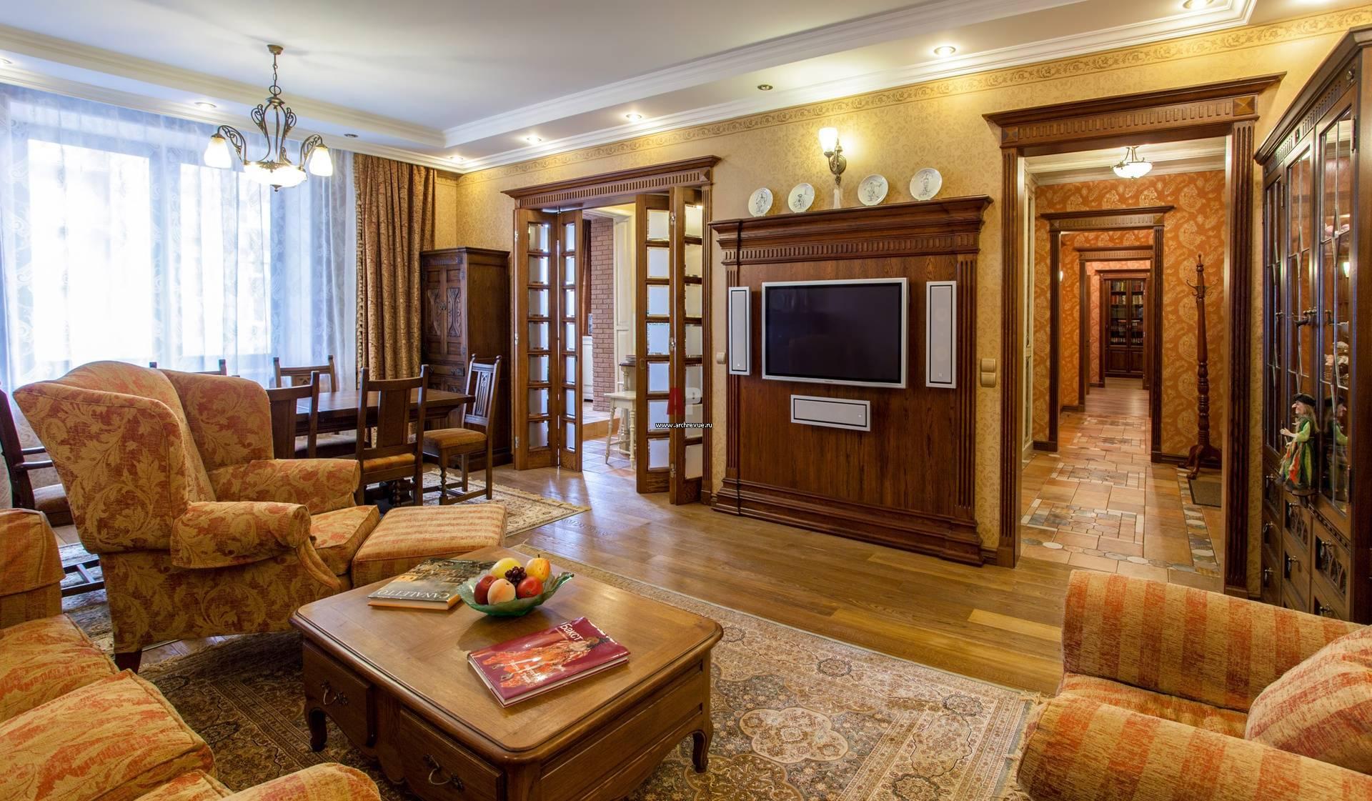 Квартира в английском стиле фото