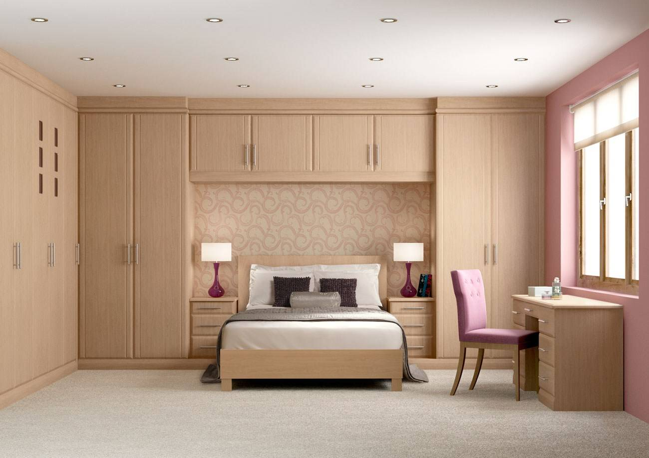Contemporary bedroom wardrobes