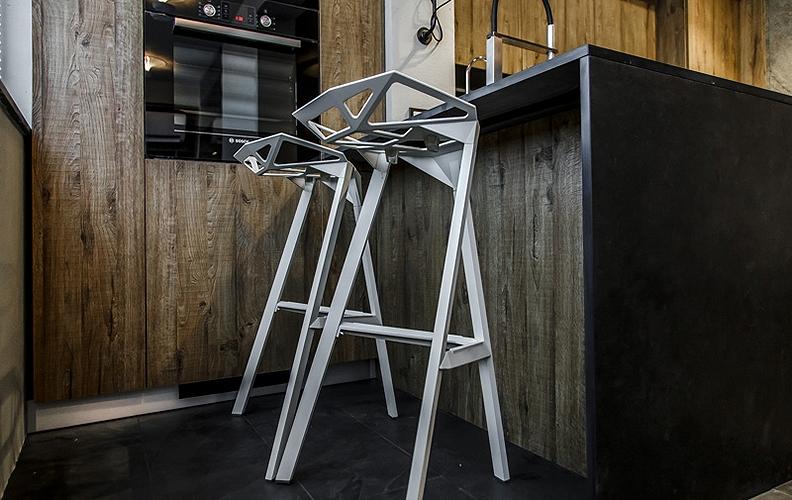 Фото Барные стулья в интерьере - 5.
