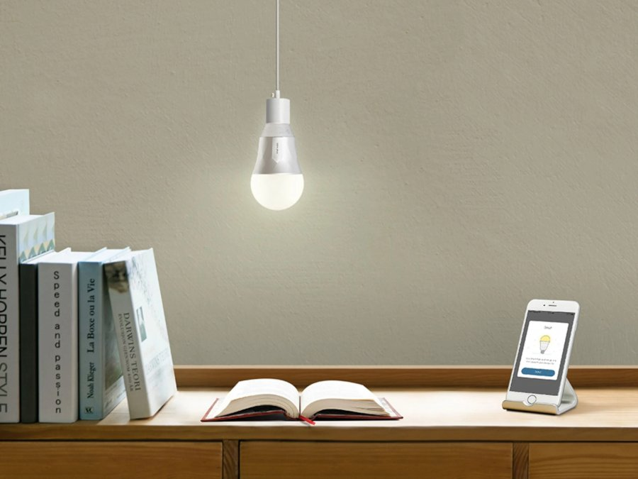 The Lighting System in a Smart Home: Interior Designers and Principle of Operation