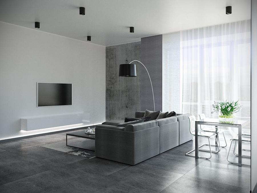 Интерьер под бетон гидроизоляция по бетону купить