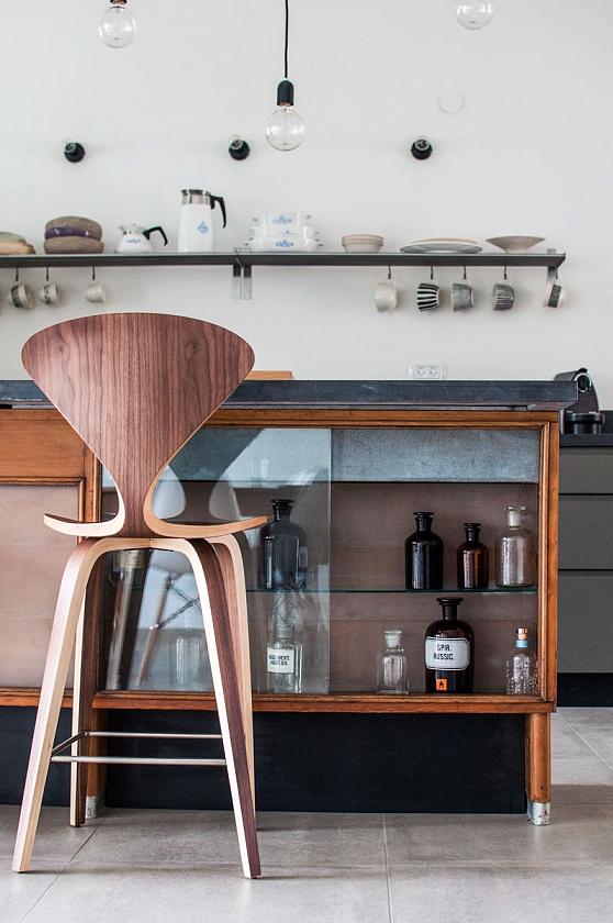 Фото Барные стулья в интерьере - 9.