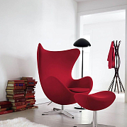 Egg Chair Красное