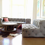 Диван Soho Tufted Upholstered Sofa