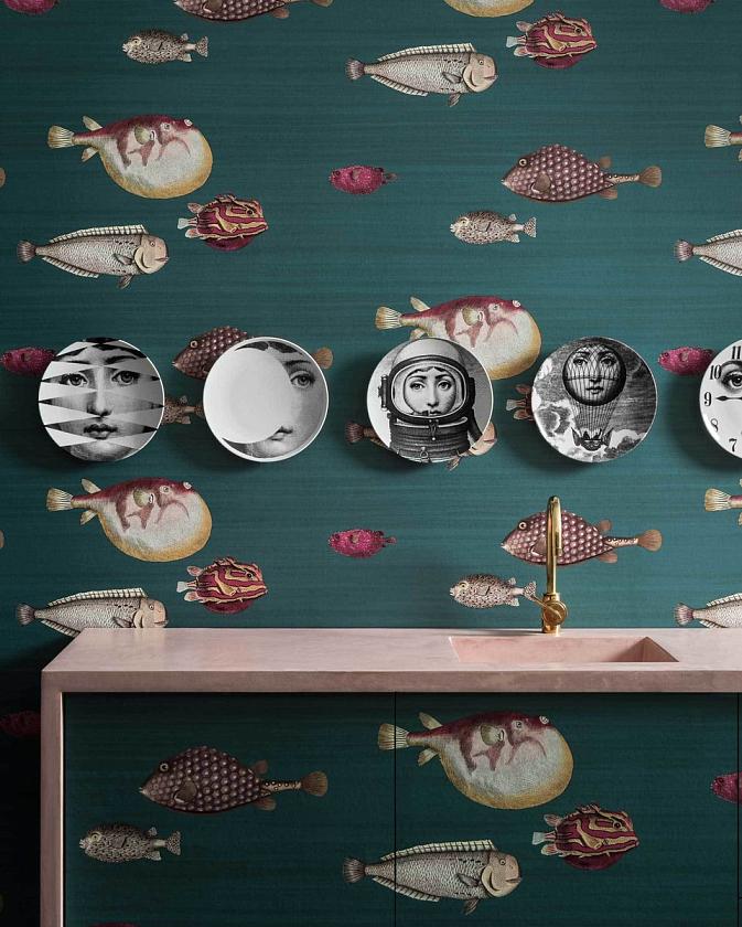 Фото Декоративные тарелки в интерьере - 5.