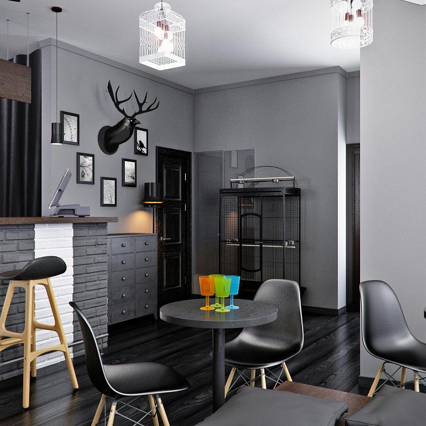 Фото Барные стулья в интерьере - 8.