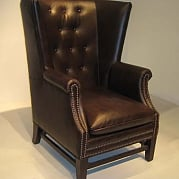 КРЕСЛО ABRAHAM LINCOLN / 8572 LEATHER / BAOWAN CHAIR (ABRAHAM LINCOLN)